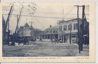 LIRR station at Sheepshead Bay Road, BK.