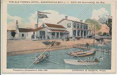 Old Tappen House, Emmons Ave.,  Sheepshead Bay, BK.