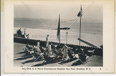 US Naval Convalescent Hospital,  Sea Gate, Coney Island
