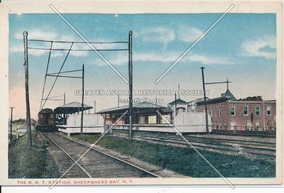 Sheepshead Bay Brooklyn Rapid Transit Station, BK.