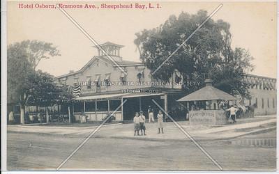 Hotel Osborn, Emmons Ave., Sheepshead Bay, BK.