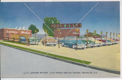 L. J. R. Lantern Motors - 37th Street and 4th Avenue, Brooklyn, N.Y.