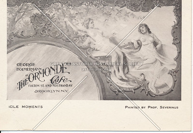 """The """"Ormonde"""" Cafe - Fulton St. and Nostrand Ave. Brooklyn, N.Y."""