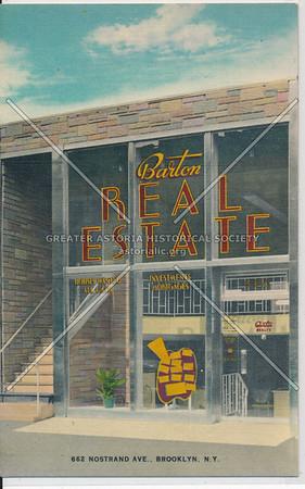 Barton Real Estate - 662 Nostrand Ave., Brooklyn, N.Y.