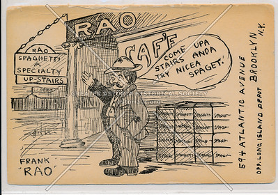 Rao's Italian Restaurant - 594 Atlantic Avenue Brooklyn, N.Y.