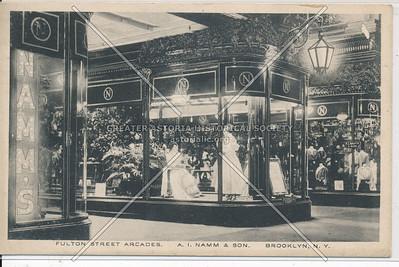 A.I. Namm & Son, Fulton Street Arcades - Brooklyn, N.Y.