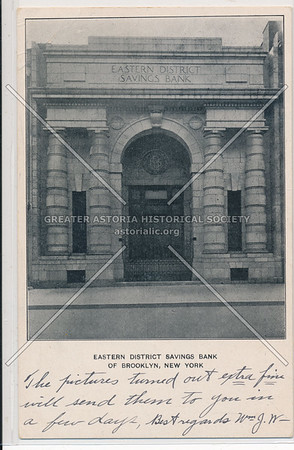 Eastern District Savings Bank of Brooklyn, New York