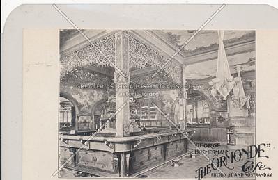 "The ""Ormande"" Cafe - Fulton St. and Nostrand Av. Brooklyn, N.Y."