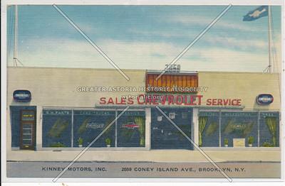 Kinney Motors, Inc. - 2059 Coney Island Ave., Brooklyn, N.Y.
