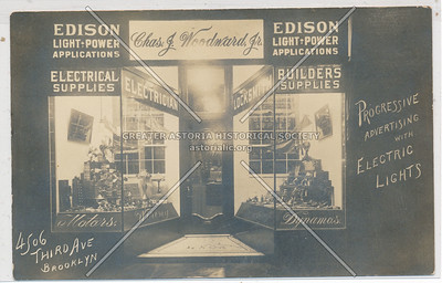 Chas J. Woodward, Jr. - Electrical Supplies, Electrician, Locksmith, Builders Supplies - 4506 Third Avenue Brooklyn