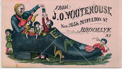 From J. O. Whitehouse - 265 & 267 Fulton St. Brooklyn, N.Y.