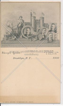 Sänger Gruss - Brooklyn, N.Y.
