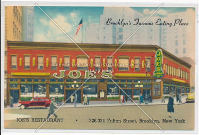 Joe's Restaurant - 326 - 334 Fulton St, Brooklyn, N.Y.