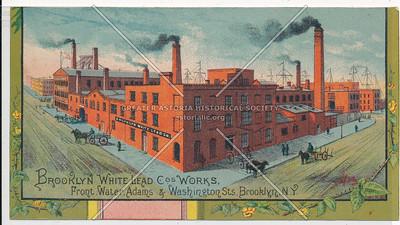 Brooklyn White Lead Co. - Front, Water, Adams, & Washington Sts, Brooklyn, N.Y.