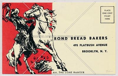 Bond Bread Bakers - 495 Flatbush Avenue Brooklyn, N.Y.