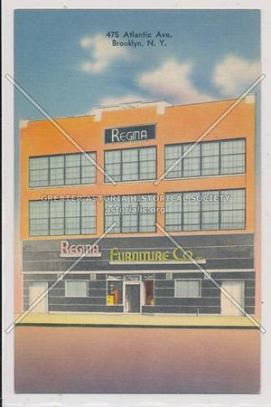 Regina Furniture Co. - 475 Atlantic Ave. Brooklyn, N.Y.