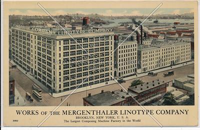 Mergenthaler Linotype Company - Brooklyn, N.Y.