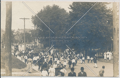 Parade,  Dubois Avenue and Cherry Lane (Forest Avenue) West New Brighton
