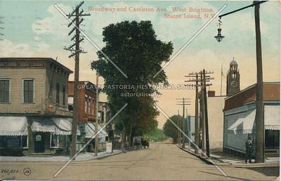 Castleton Avenue at Broadway, West New Brighton