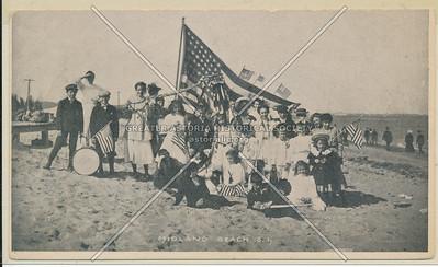 Midland Beach flag