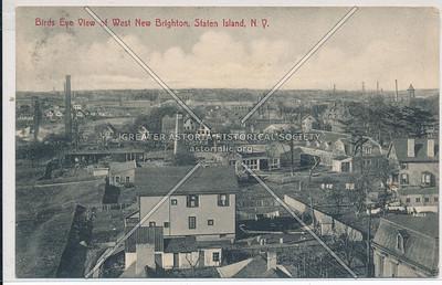 Birds Eye View of West New Brighton, Staten Island