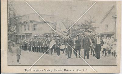 Hungarian Society Parade, Kreischerville