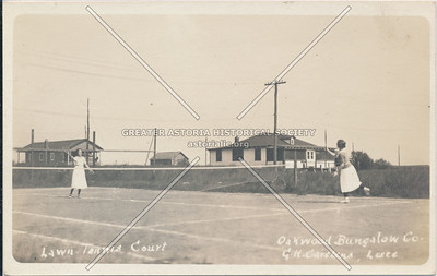 Lawn tennis, Oakwood Bungalows