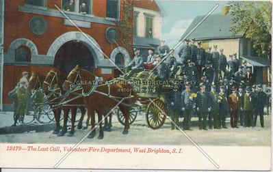 Volunteer Fire Dept., West New Brighton