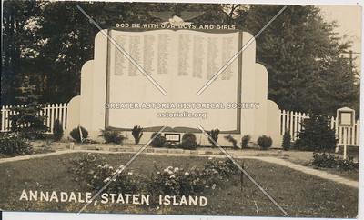 War Memorial, Annadale