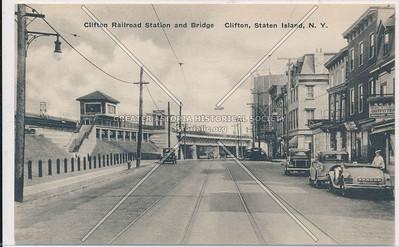 Clifton Staten Island Railway station, Rosebank