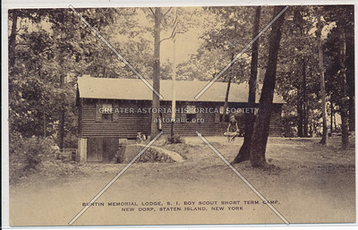 Pouch Camp, Boy Scout lodge