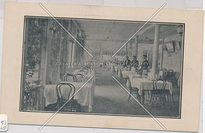Dining room, Rigali's Hotel, Arrochar