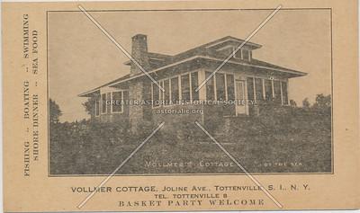 Vollmer Cottage, Joline Ave., Tottenville