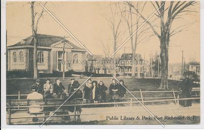 Carnegie Library at Port Richmond Park, Port Richmond