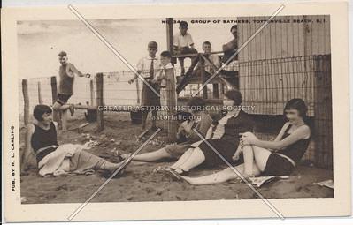 Bathers, Raritan Bay Park, Tottenville