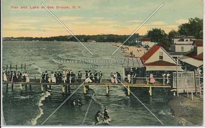 Sea Breeze pier and lake, Staten Island