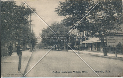 Amboy Road from William Street (Yetman Ave.), Tottenville