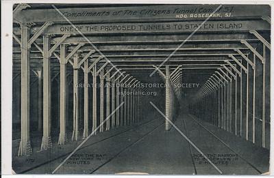 Proposed subway to Staten Island