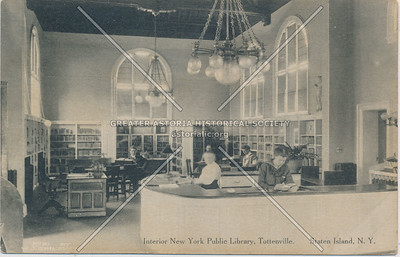 Interior Carnegie Library, Amboy Road, Tottenville