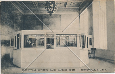 Interior Tottenville National Bank, Main Street and Craig Ave., Tottenville