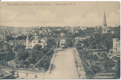 Birdseye view from Boro Hall, St. George