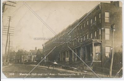 Western Hall, Tompkinsville