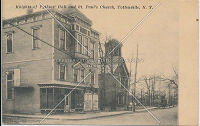 Knights of Pythias Hall, St. Paul's Church, Tottenville