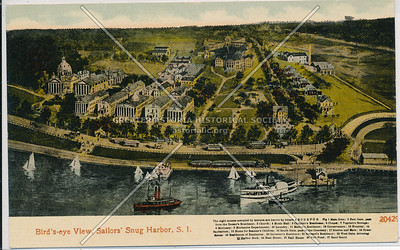 Birdseye View, Sailors Snug Harbor