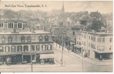 Tompkinsville birdseye view
