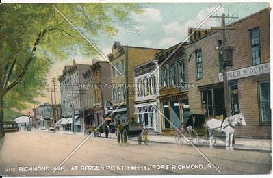 Richmond Ave., near Bergen Point Ferry, Port Richmond