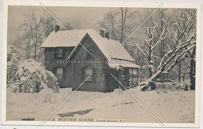 Winter scene, Westerleigh