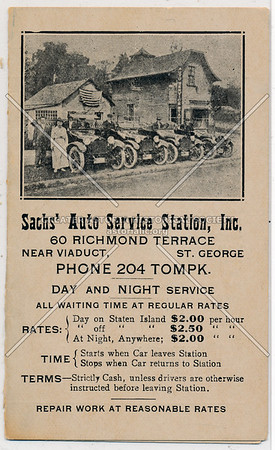 Sachs Auto Service, Richmond Terrace, St. George