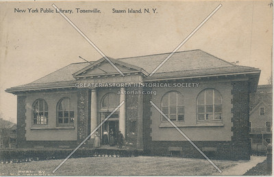 Carnegie library,  Tottenville