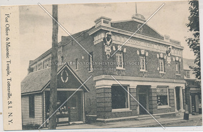 Masonic Temple, Main St., Tottenville